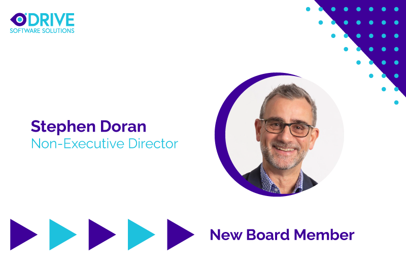 Stephen Doran - New board member of Drive